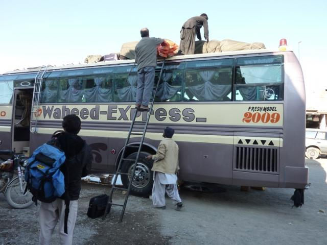 Bus from Taftan